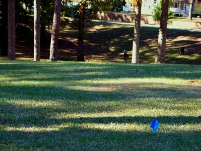 Perkerson Park, Main course, Hole 16 Long tee pad