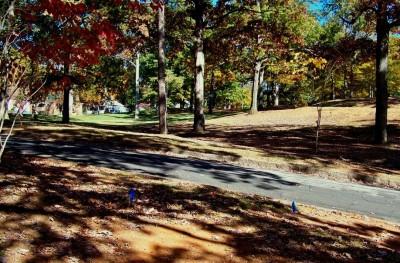 Perkerson Park, Main course, Hole 2 Long tee pad