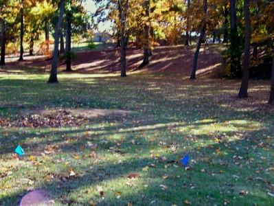 Perkerson Park, Main course, Hole 5 Long tee pad