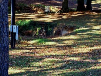 Perkerson Park, Main course, Hole 14 Midrange approach