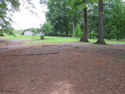 Perkerson Park, Main course, Hole 6 Tee pad