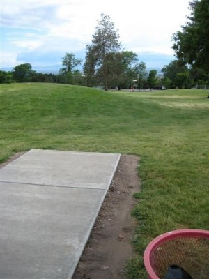 University of Utah, Main course, Hole 9 Tee pad