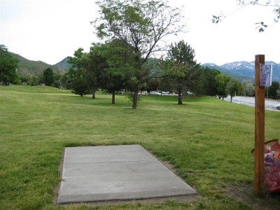 University of Utah, Main course, Hole 1 Tee pad