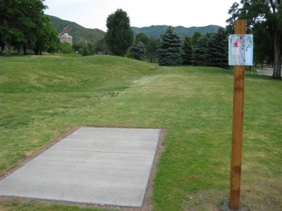 University of Utah, Main course, Hole 2 Tee pad