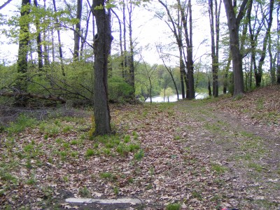 Portage Lakes DGC, Main course, Hole 5 Short tee pad