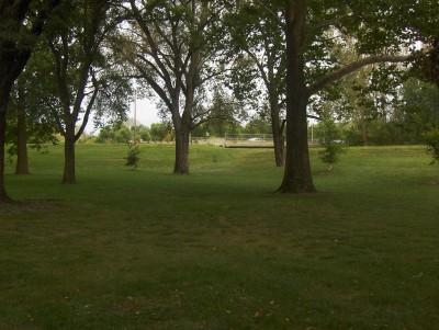 Pete Crivaro Park, Main course, Hole 5 Short tee pad