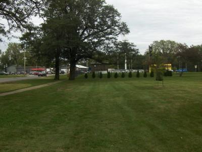 Pete Crivaro Park, Main course, Hole 1 Short tee pad