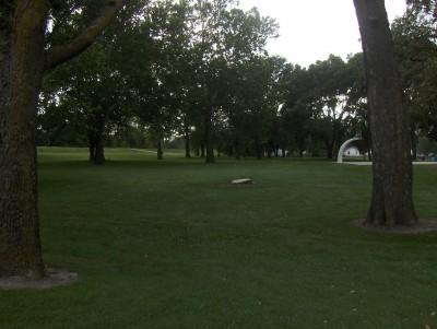 Pete Crivaro Park, Main course, Hole 4 Tee pad