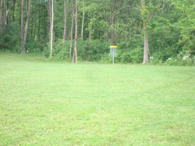 Pierson Road YMCA, YMCA Camp Boomerang Course, Hole 1 Tee pad