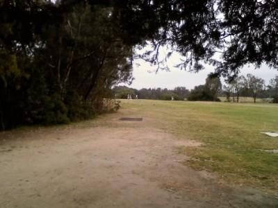 Huntington Beach Central Park, Main course, Hole 6 Tee pad