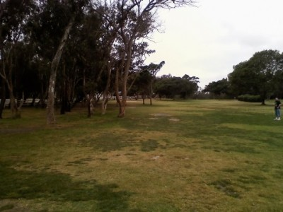 Huntington Beach Central Park, Main course, Hole 12 Tee pad