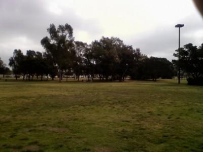 Huntington Beach Central Park, Main course, Hole 18 Tee pad