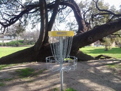 Westside Park, Main course, Hole 1 Putt