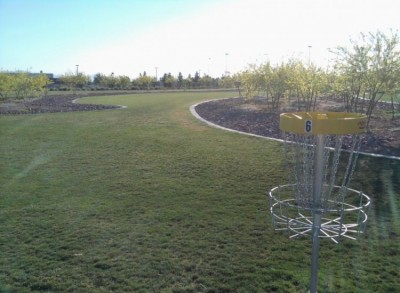 Red Ridge Park, Red Ridge, Hole 6 Reverse (back up the fairway)