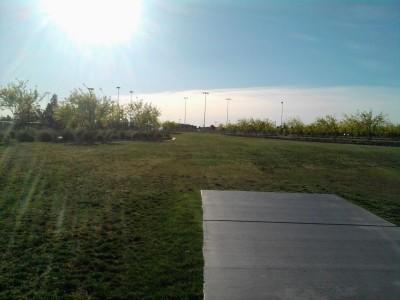 Red Ridge Park, Red Ridge, Hole 5 Tee pad