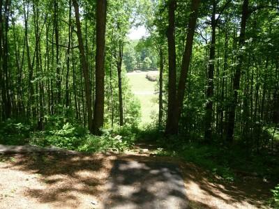 Ashe County Park, Main course, Hole 9 Short tee pad