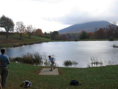 Ashe County Park, Main course, Hole 3 Tee pad