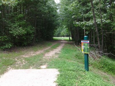 Creekside Park, Creekside Park Disc golf, Hole 11 Long tee pad