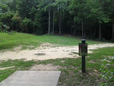 Creekside Park, Creekside Park Disc golf, Hole 15 Long tee pad