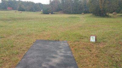 The Crucible, The Crucible, Hole 2 Long tee pad