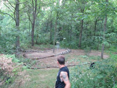Oller's Acres, Oller's Acres, Hole 13 Short approach