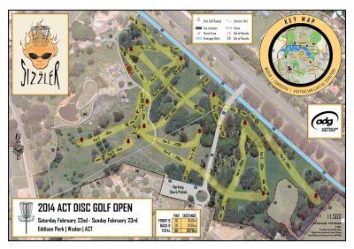 Eddison Park, Main course, Hole 1 Tee pad