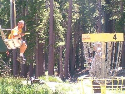 Kirkwood Mountain Resort, Main course, Hole 4 Putt