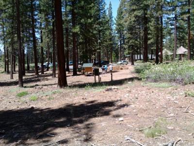 Kirkwood Mountain Resort, Main course, Hole 1 Tee pad
