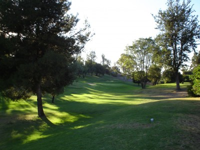 Sun Valley, Main course, Hole 2 Tee pad
