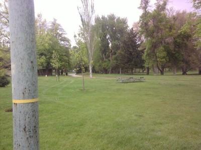 Fairmont Park, Main course, Hole 7 Tee pad