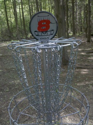 Punderson State Park, Friends of Punderson DGC, Hole 8 Putt