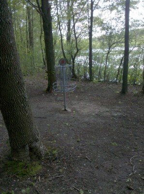 Punderson State Park, Friends of Punderson DGC, Hole 3 Putt