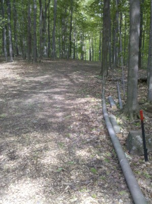 Punderson State Park, Friends of Punderson DGC, Hole 4 Short tee pad