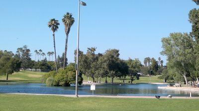 La Mirada Regional Park, Main course, Hole 16 Tee pad