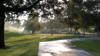 La Mirada Regional Park, Main course, Hole 17 Tee pad