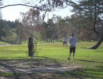 La Mirada Regional Park, Main course, Hole 18 Putt