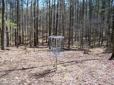 International Disc Golf Center, Jim Warner Memorial, Hole 13 Putt