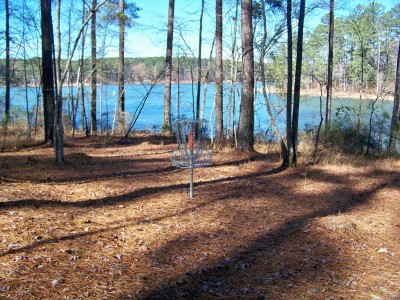 International Disc Golf Center, Jim Warner Memorial, Hole 10 Putt