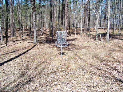 International Disc Golf Center, Jim Warner Memorial, Hole 16 Putt