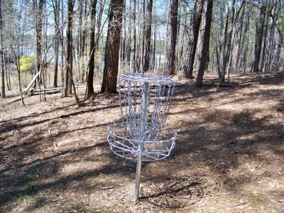 International Disc Golf Center, Jim Warner Memorial, Hole 14 Putt