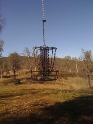 Highland Springs Reservoir, Main course, Hole 19 Putt