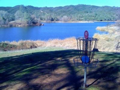 Highland Springs Reservoir, Main course, Hole 13 Putt