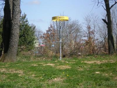 Boettler Park, Boettler park, Hole 3 Short approach