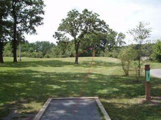 Doogan Park, Doogan Park, Hole 8 Tee pad