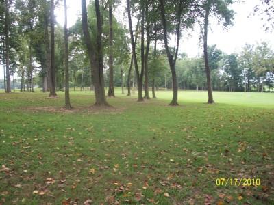 War Memorial Park, Main course, Hole 7 Midrange approach