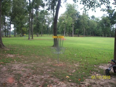 War Memorial Park, Main course, Hole 7 Putt