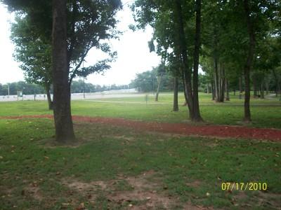 War Memorial Park, Main course, Hole 9 Midrange approach