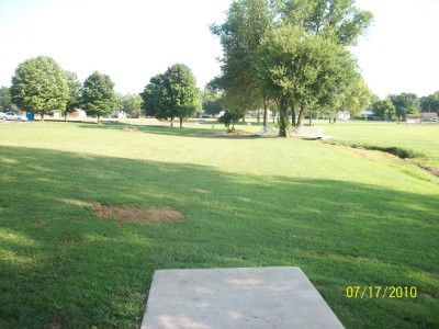 North Drive Park, Main course, Hole 6 Tee pad