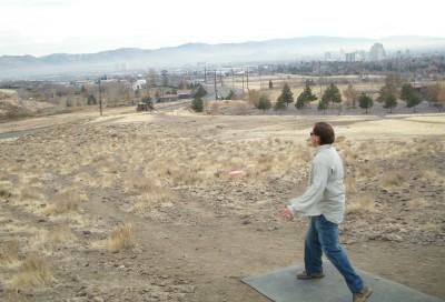 Rancho San Rafael Park, The Ranch, Hole 16 Tee pad
