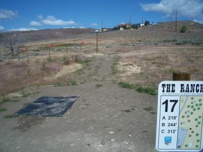 Rancho San Rafael Park, The Ranch, Hole 17 Hole sign